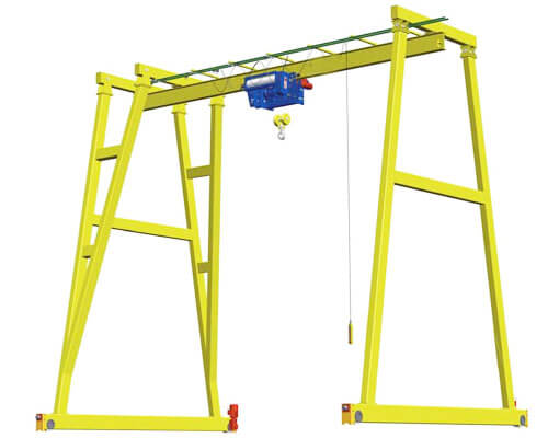 1 Ton Fixed Gantry Crane