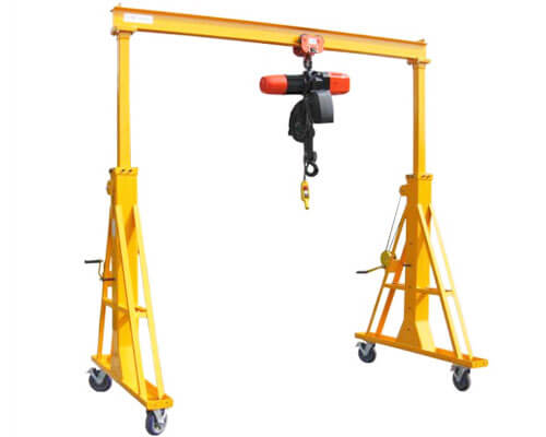 1 Ton Portable Gantry Crane Price