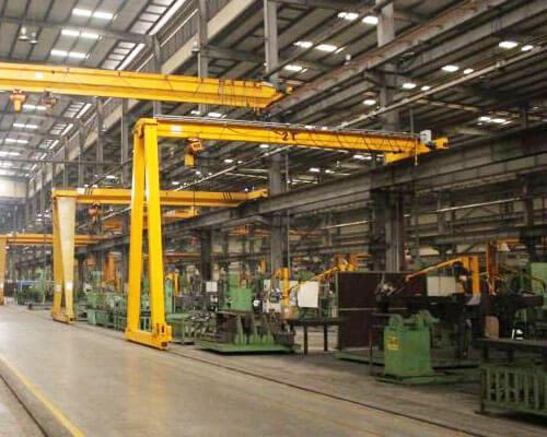 1 Ton Semi Gantry Crane