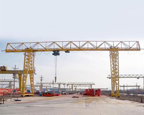 Single Girder Truss Gantry Crane