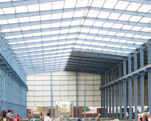 Steel Construction Building Manufacturer