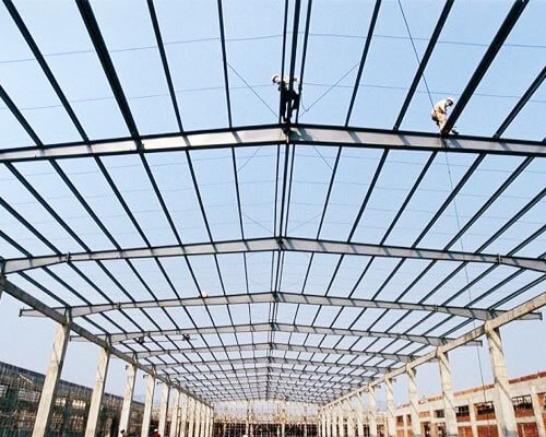 Steel Frame Construction Price