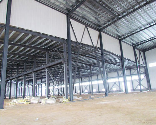 Steel Structure for Shed