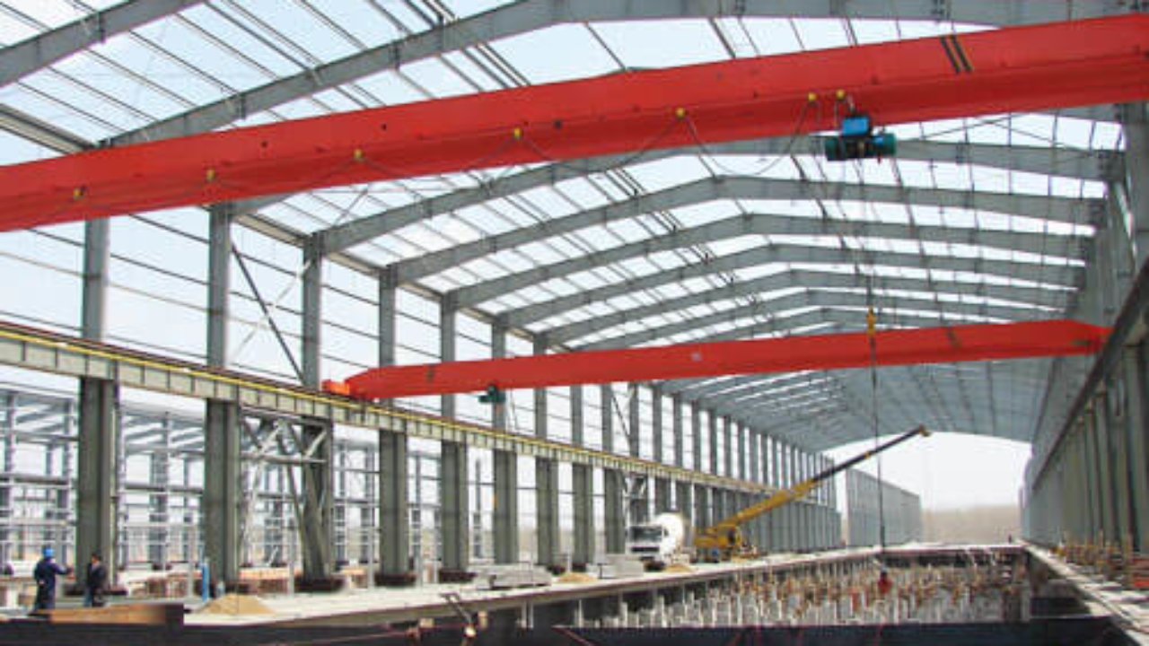 Steel Structure Shed Customized Steel Structure Supplied