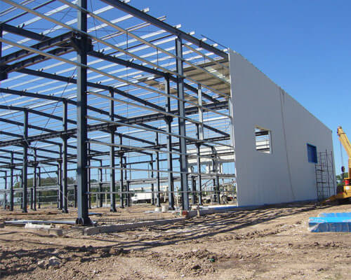 Steel Structure Workshop for Sale