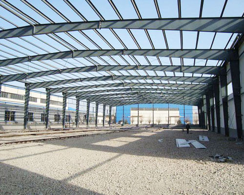 Steel Workshop Building For Sale