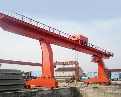 20t L-shaped Single Girder Overhead Crane
