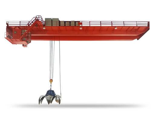 QZ Double Girder Grab Overhead Crane