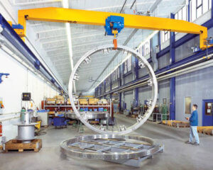 Single Girder Overhead Traveling Crane