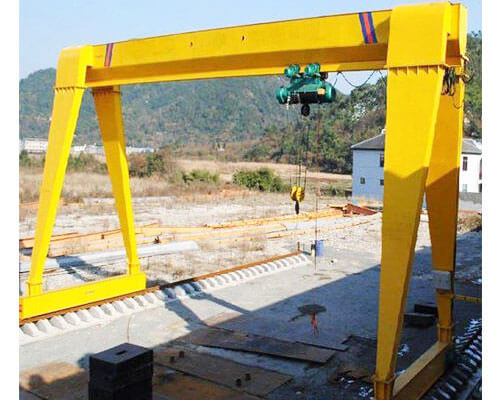 Single Girder 5 Ton Gantry Crane