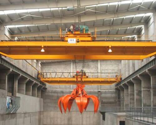 10 Ton Grab Bucket Crane
