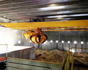 Grab Bucket Overhead Crane