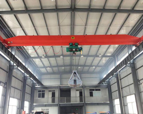 Single Girder Grab Crane