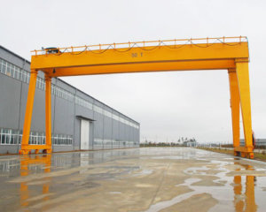 50 Ton Double Girder Gantry Crane