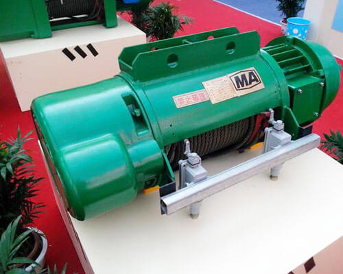 MA Explosion Proof Hoist Used in Mine