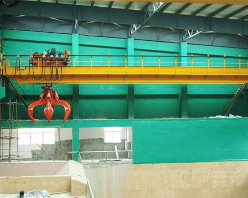 Double Girder Grab Crane Supplier