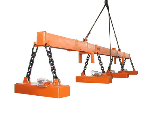 Overhead Crane For Handling Magnetic Metals