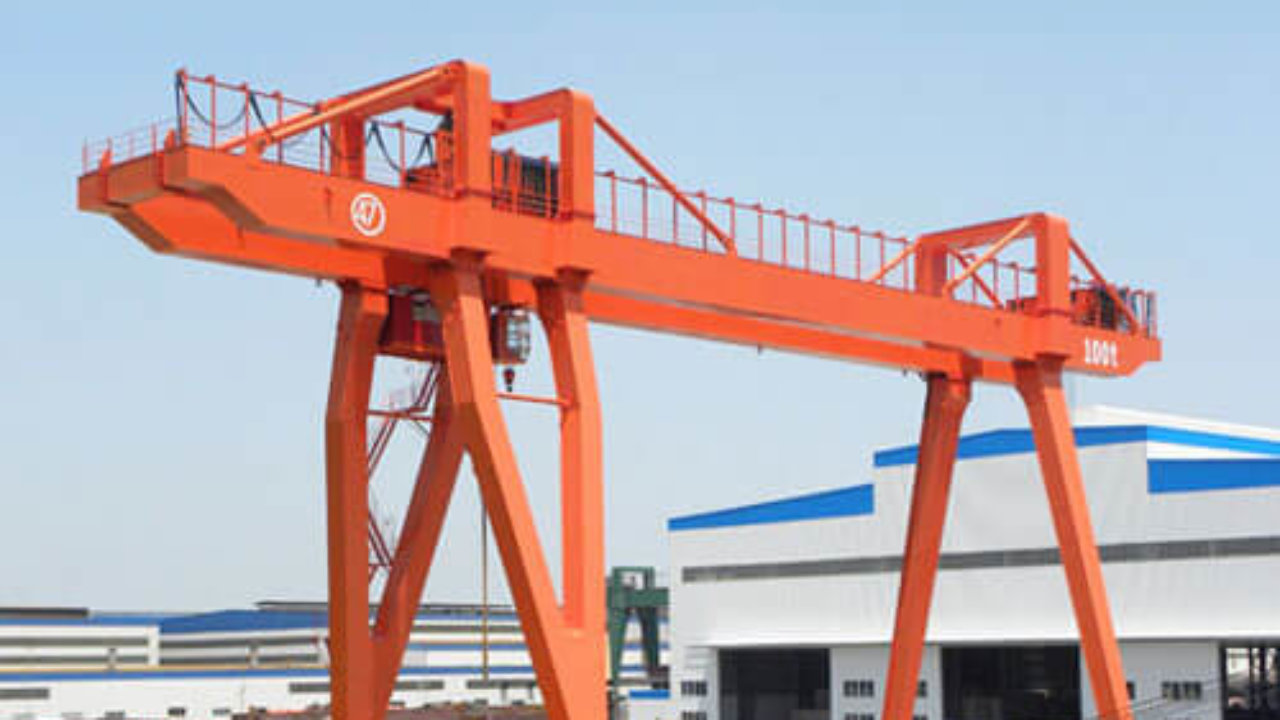 100 Ton Gantry Crane for Sale - Reliable Gantry Cranes