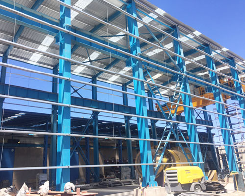 Cost-effective Steel Structure for Sale