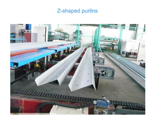Z-shaped Purlins