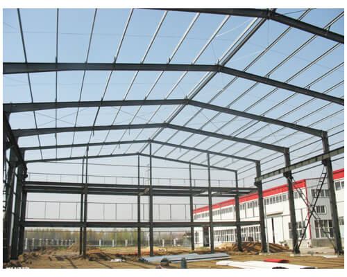 Single Span Steel Structure for Industrial Buildings