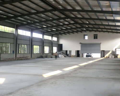 Steel Building Without Overhead Crane System