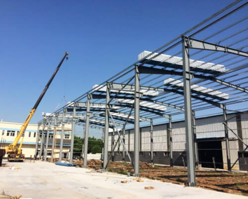 Lightweight Steel Structure for Buildings