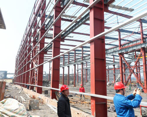 Steel Structure Workshop Building