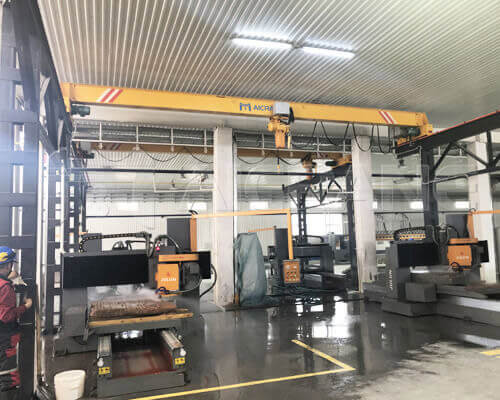 AQ-LD 2t Overhead Crane With Chain Hoist