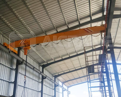 5 Ton Overhead Crane With Chain Hoist