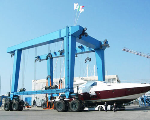 50 Ton Marine Boat Hoist Supplier