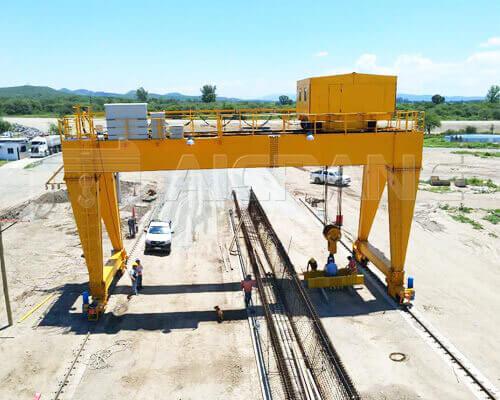 70 Ton Gantry Crane for Argentine Client
