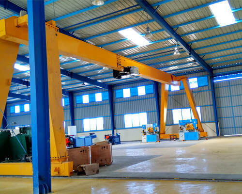 China Steel Structure With 10 Ton Gantry Crane
