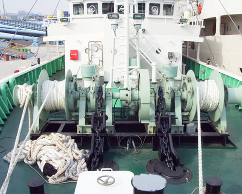 Hydraulic Anchor Mooring Winch Supplier