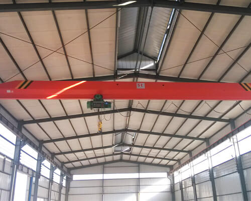 Industrial Steel Structure Building With Overhead Crane