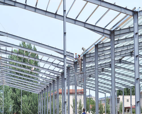 Prefab Steel Structure in China