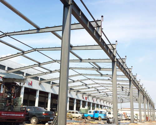 Prefabricated Steel Structure for Sale
