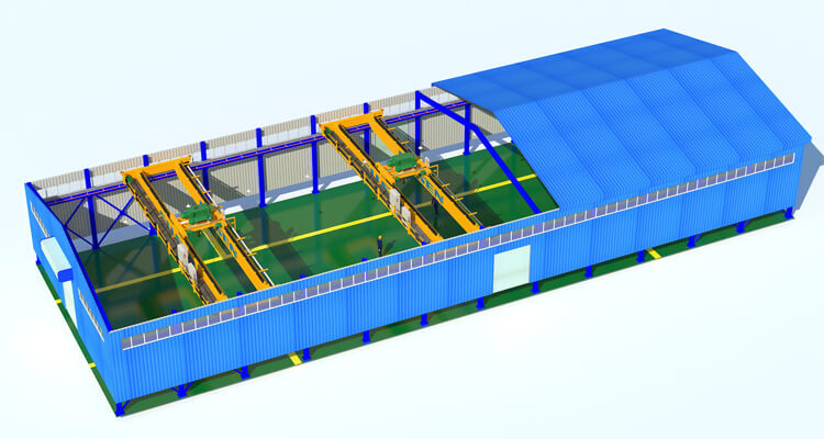 Steel Structure Building Custom Design