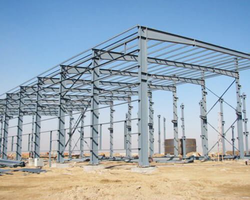 Steel Structure for Workshops, Warehouses or Sheds