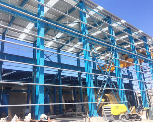 Steel Structure Industrial Building for Sale