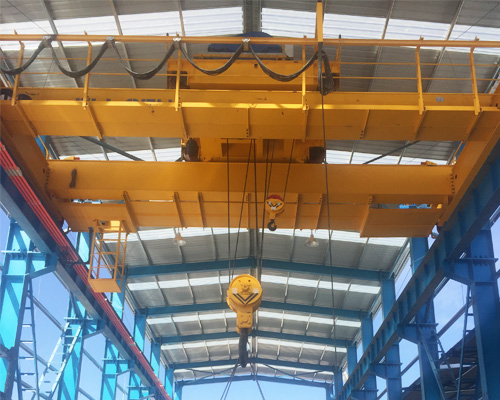 Steel Structure With Overhead Crane System