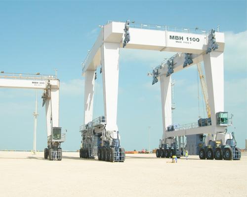1100 Ton Marine Hoist for Sale