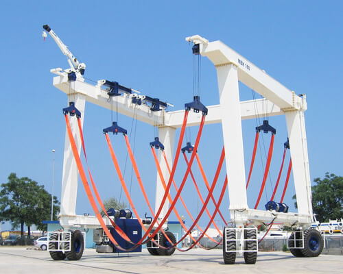 160 Ton Travel Lift Manufacturer
