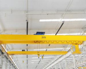 European Double Girder Bridge Crane for Sale