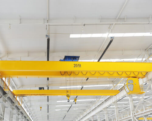 European Double Girder Bridge Crane for Sale