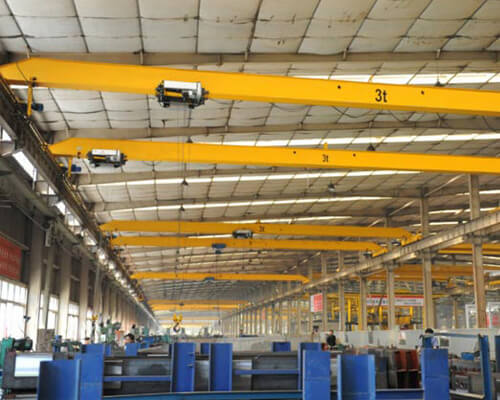European Standard Single Girder Bridge Crane