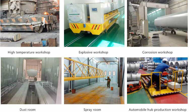 Applications of Industrial Transfer Carts