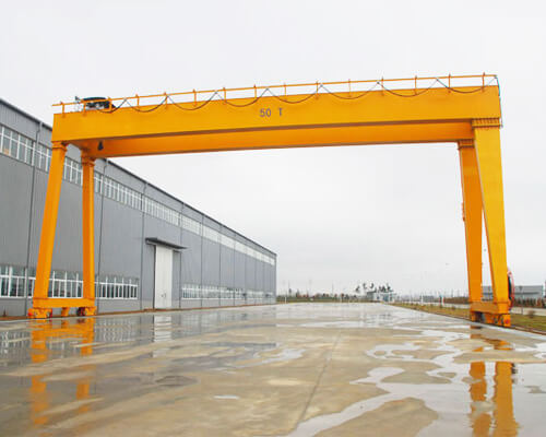 A Frame Double Girder Gantry Crane for Sale