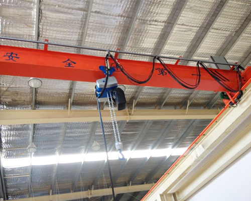 Single Girder Bridge Crane Manufacturer