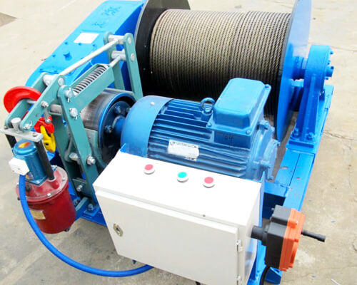 Winch 5 Ton With Electric Control Box
